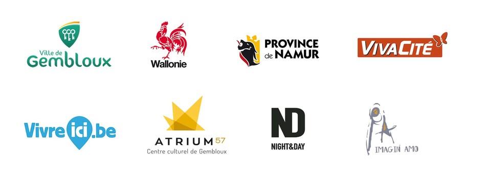 wally en fete logos