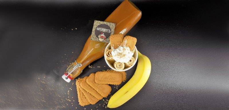 glace book banane speculoos caramel