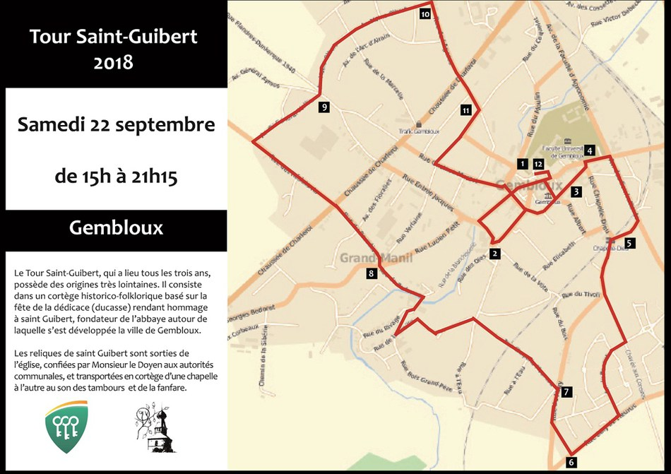 Tour Saint Guibert 2018 1 L